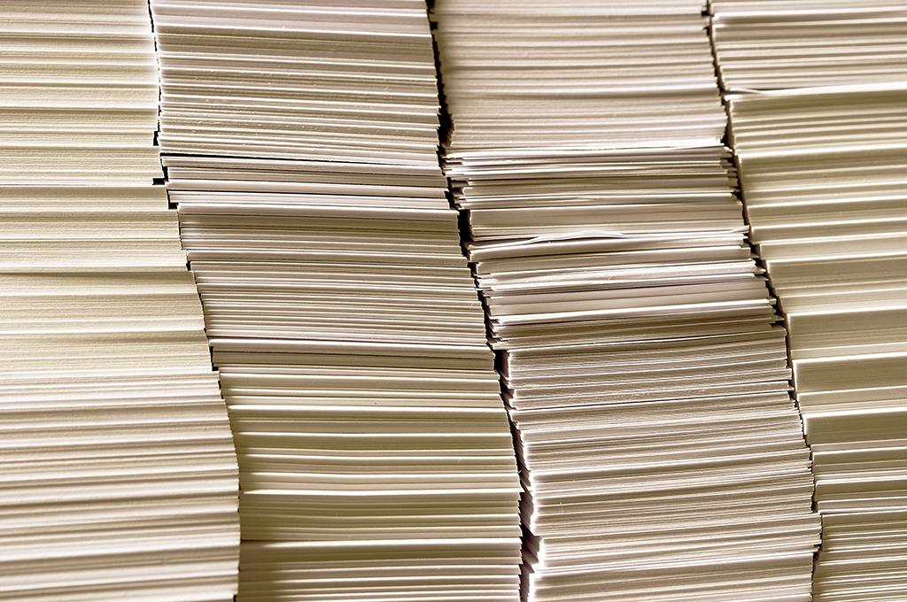 Durabilité - carta riciclata