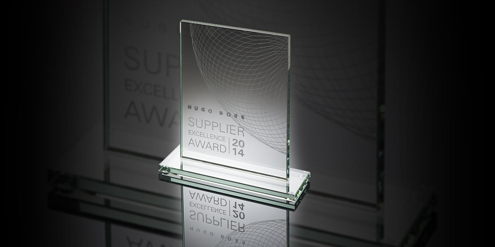 Premio Hugo Boss Supplier Excellence Award 2014