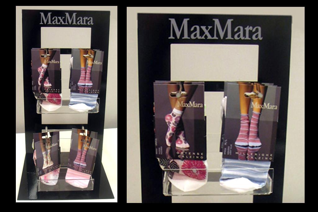Espositore calze MaxMara