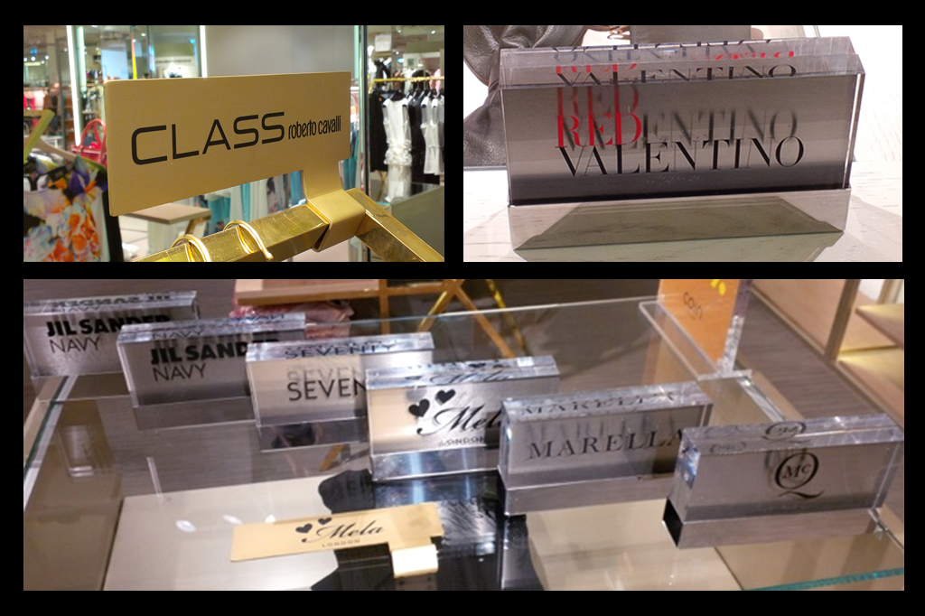 Targa New Arrivals in plexiglass Excelsior Milano