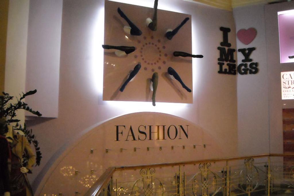 Installazioni: Corner calze - I love my legs - Coin Firenze