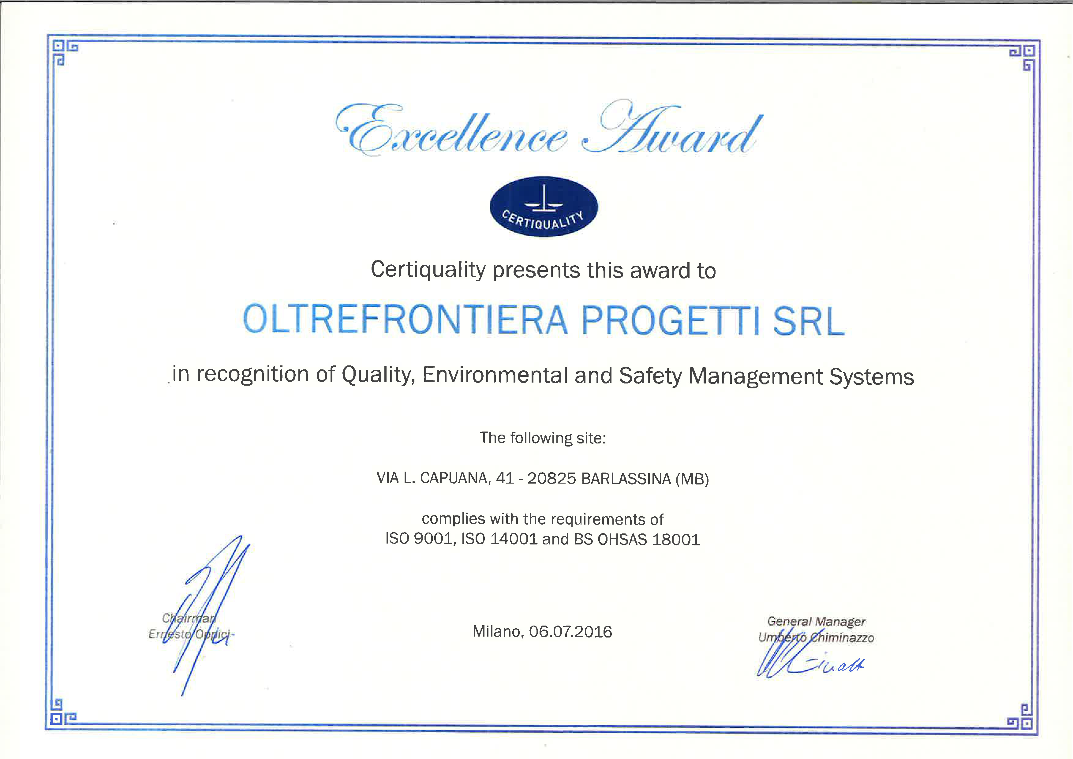 OFP_Certiquality Award_eng