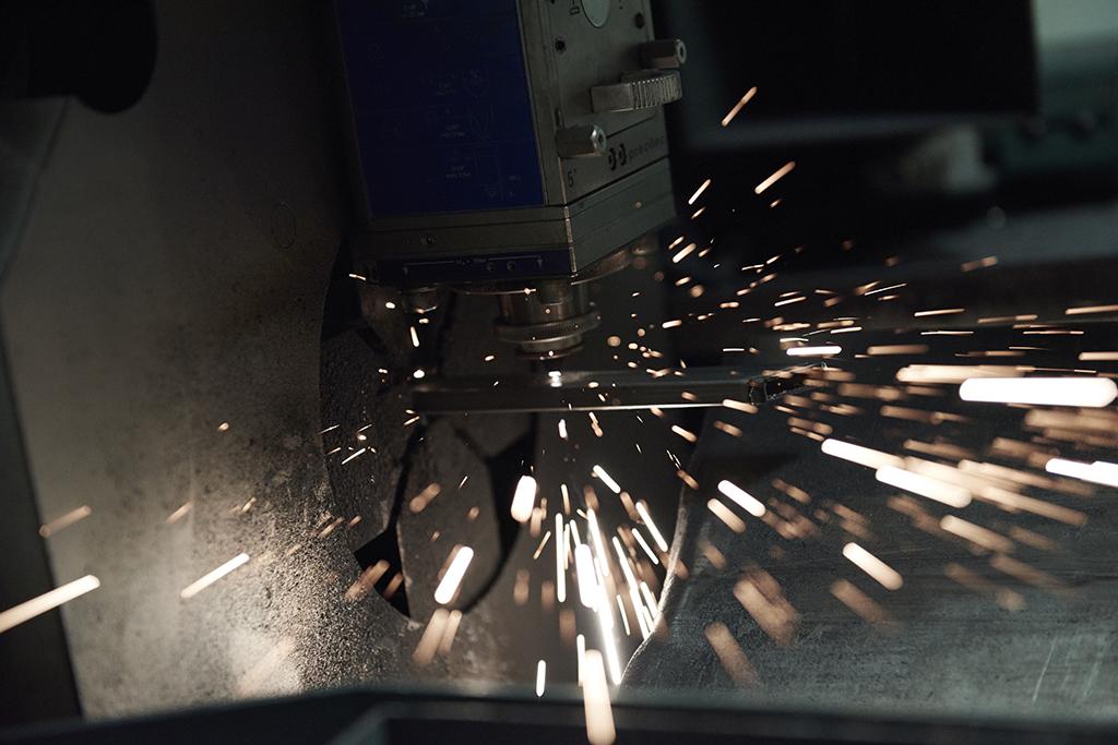 铁艺生产,局部
